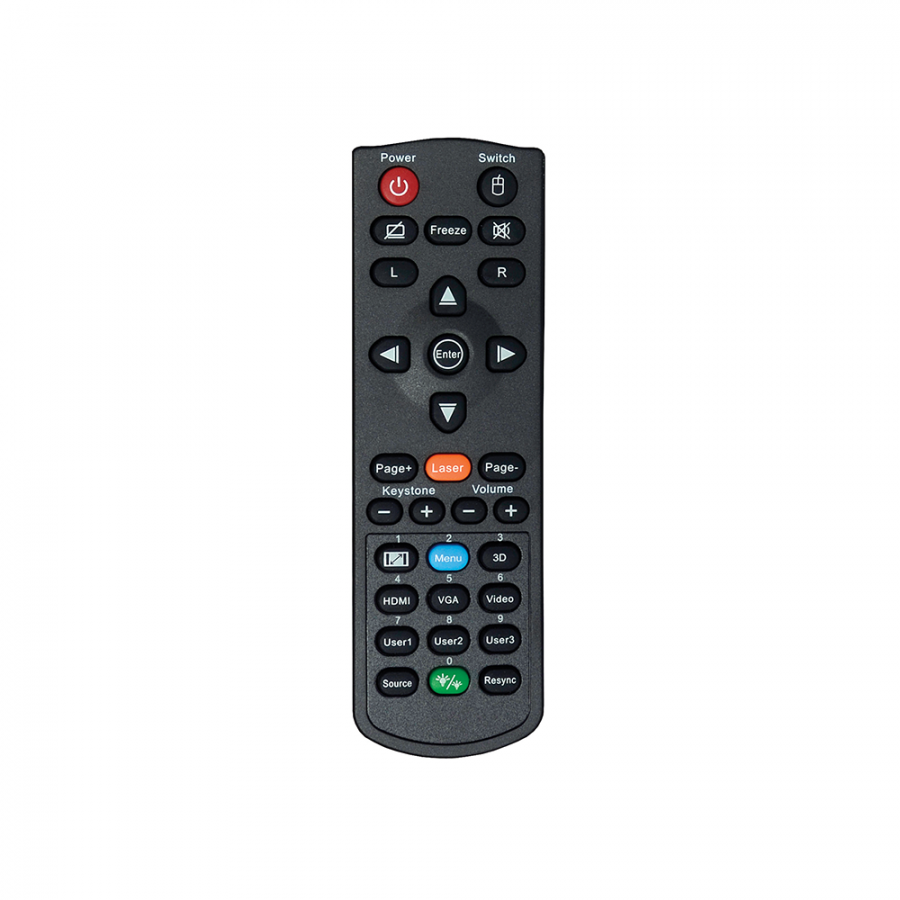 OPTOMA EH400 TV CONTROL